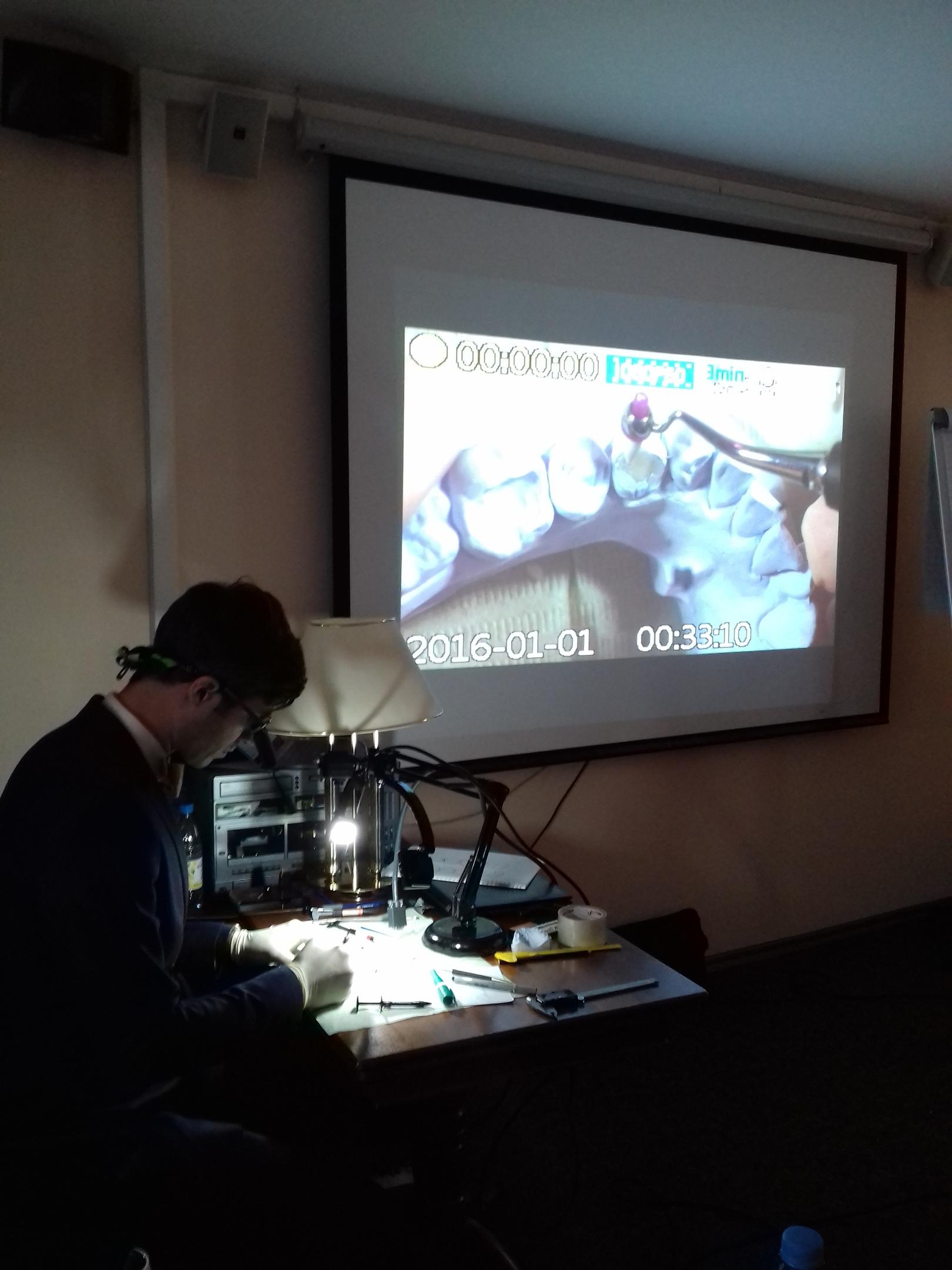 Семинар и мастер-класс Анатолия Мартынова «Анатомия жевательной поверхности зубов»